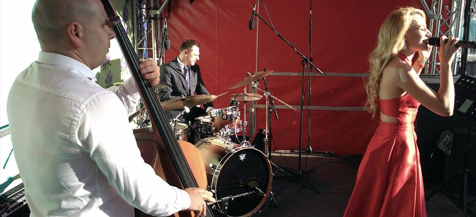 Джазовые музыканты на мероприятие