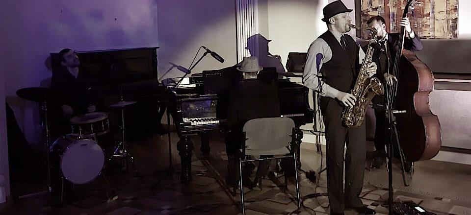 Джазовый коллектив на мероприятие